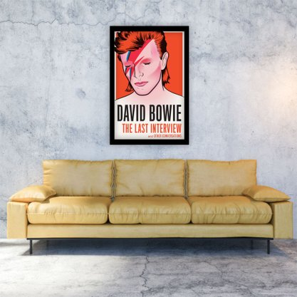 Quadro Decorativo David Bowie The Last Interview
