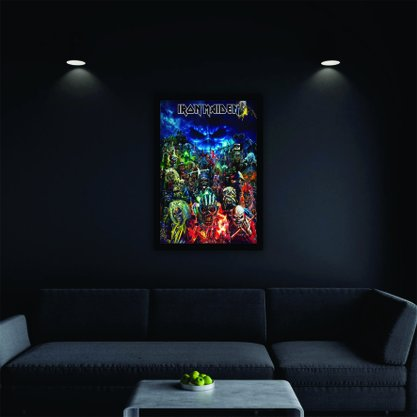 Quadro Decorativo Iron Maiden
