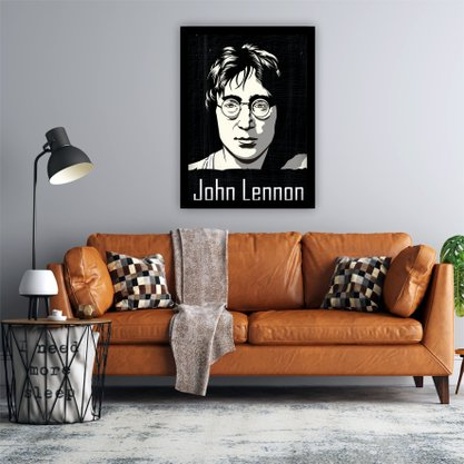 Quadro Decorativo John Lennon Beatles