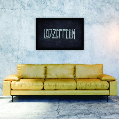 Quadro Decorativo Pôster Led Zeppelin