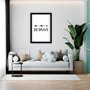 "Quadro Decorativo Frase ""Be Brave"""